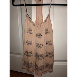 Express beaded tank top